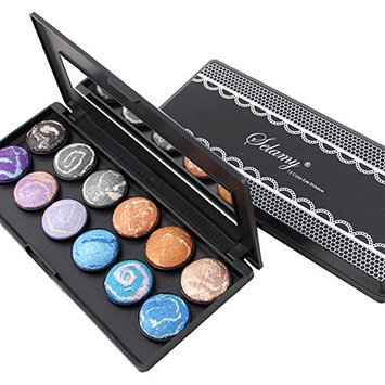 Healthcom 12 Colors Eyeshadow Pro Eye Shadow Palette Eyeshadow Makeup Palette