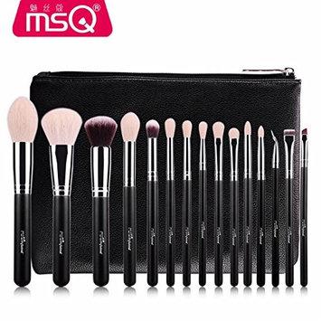 MARIAHANAN 15pcs Brush Set Professional Soft Makeup Brushes Foundation Eye Face Cosmetic Make Up Brush Tool Kit +Bag