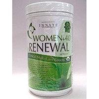 INNATE Response Formulas - Women+40 Greens, Renewal Greens Blend with Gender Specific Herbs for Women Over 40, 300 Grams