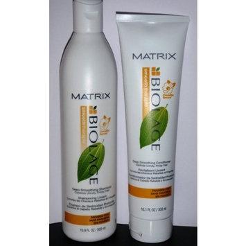 Matrix Smooththerapie Biolage Deep Smoothing Shampoo 16.9oz Condtioner 10.1oz Duo