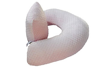 The Twin Z Comp The 4 in 1 One Z PINK Nursing Pillow w AMAZING BACK SUPPORT- PINK COLOR COVER