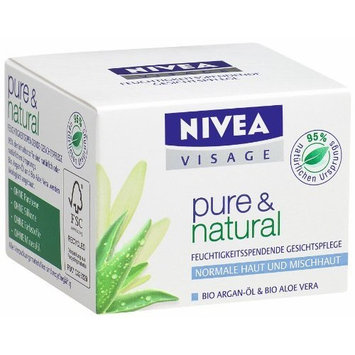 Nivea Visage Pure & Natural Day Cream for Normal / Combination Skin 50 Ml