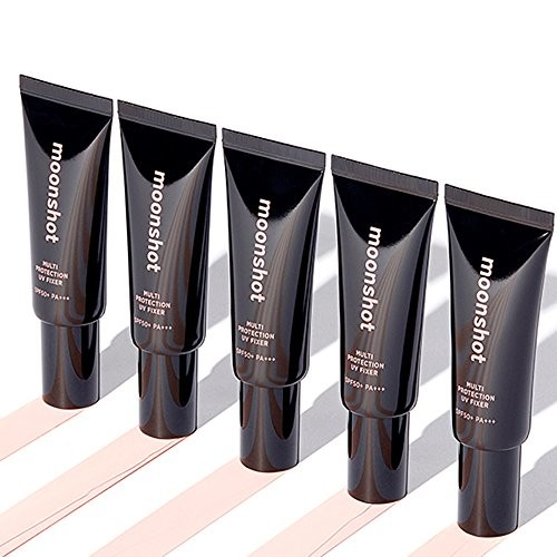 MOONSHOT Multi Protection UV FIXER SPF50+ PA+++ 1.69 fl. oz. Make up Fixer/Primer/Sunscreen Effect