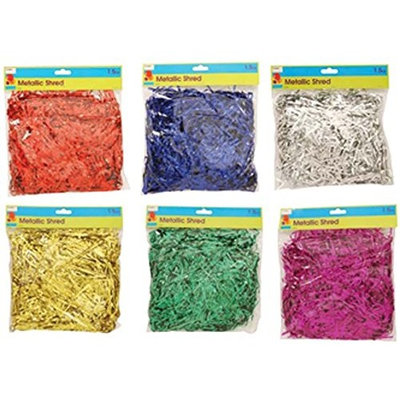 FLOMO 1930593 Bags of Assorted Color Metallic Shared - Case of 96