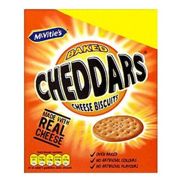 McVitie's Cheddars Cheese Biscuits 185g