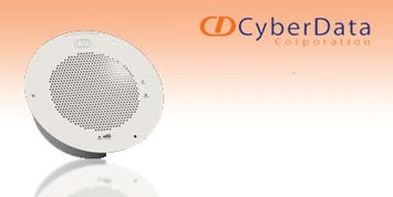 Cyberdata 011121 Auxiliary Speaker Analog Cpnt Signal White (ral 9003)