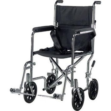 Drive Medical TR17 Transport Chair, 17 Inch