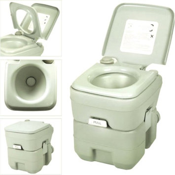 Portable Flushing Toilet For Camping 5 Gallon 20L Commode Potty Outdoor/Indoor Comfort Convenience Environmental Protection Powerful Flushing Easy To Use Push Button Operation-MegaTrade Prime
