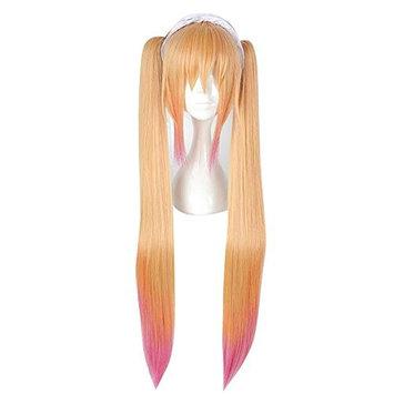 Long 80CM Curly Heat Resistant Lolita Fashion Women Cosplay Wig + Wig Cap