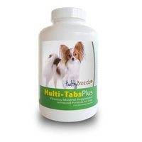 Healthy Breeds 840235140542 Papillon Multi-Tabs Plus Chewable Tablets 180 Count