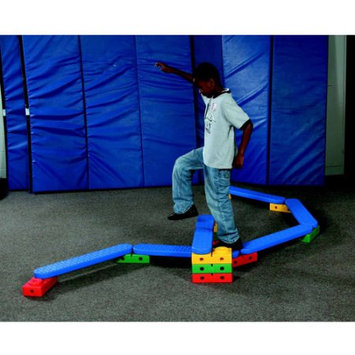 Kiddies Paradise Abilitations Integrations On-The-Move Climbing and Balancing System Set with Storage Bag