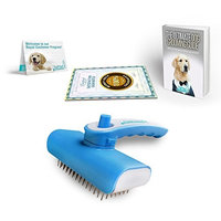 Dog Brush Selfcleaning – Shedding Tool for Dogs – Several Size and Colors of Dog Brushes for Shedding – Comfortable Grip Handle – Comes with FREE eBook Guide on Dog Grooming – 100% MONEY BACK GUARANTEE – Buy Now!