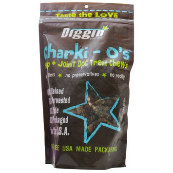 Diggin Your Dog Original Charki O's Dog Chews - 6 oz.