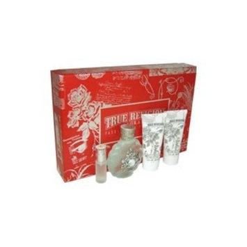 True Religion Fragrances Fashion Vintage 4 Piece Perfume Gift Set for Women
