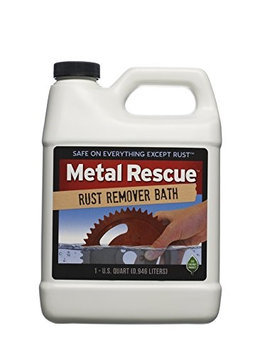 Workshop Hero Cleaning Products 1-Qt. Metal Rescue Rust Remover Bath WH290497
