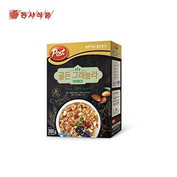 Dongsuh Post Cereal Golden Granola Crunch 360G X 3