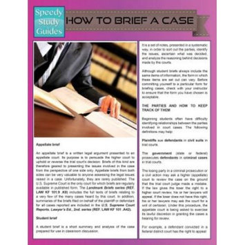 How to Brief a Case (Paperback)