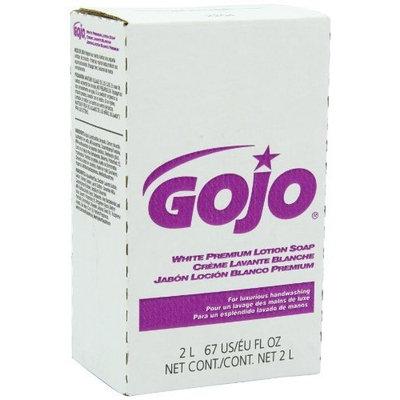 GOJO 2204-04 NXT White Premium Lotion Soap, 2000 mL (Case of 4)