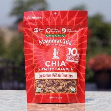 Mamma Chia Organic Vitality Granola Cinnamon Pecan Clusters 9 oz