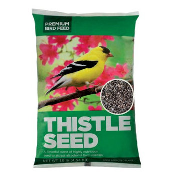 Asa Agrotech Private Limited Premium Thistle Seed Wild Bird Feed, 10 lbs