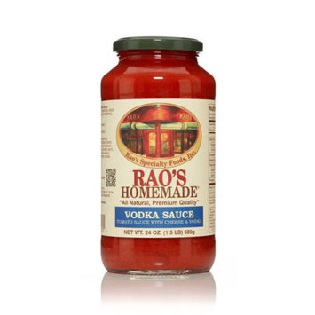 Raos Specialty Foods Rao's Homemade Natural Pasta Sauce, Vodka, 24 Oz