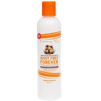 Sunny Isle 8-ounce Jamaican Black Castor Oil Knot Free Forever Natural Leave In Detangler