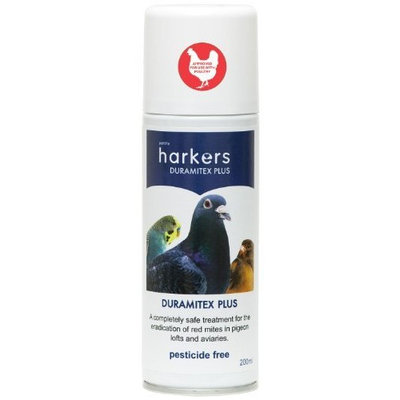 Petlife Harkers Duramitex Plus Red Mite Spray For Pigeon/ Cage/ Aviary Bird,