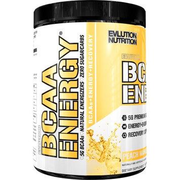 EVLUTION Nutrition, BCAA Energy, Peach Mango, 9.52 Oz