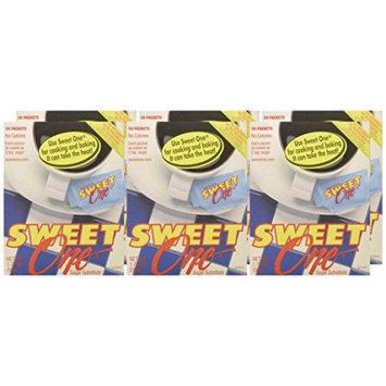 Sweet One Sugar Substitute, 50 CT (Pack of 4)