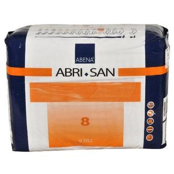Abena Abri-San Premium Incontinence Pads, Size 8 - Maxi, 21 Count