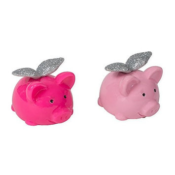 When Pigs Fly Assorted Flavor Miniature Lip Gloss Pack of 2