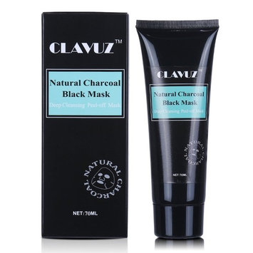 CLAVUZ Blackhead Remover Black Mask, Charcoal Purifying Peel Off Deep Cleansing Face Mask