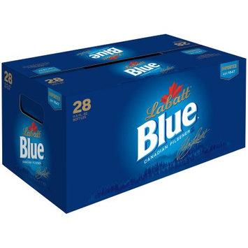 Labatt Blue Canadian Pilsener 28â 11.5 fl. oz. Glass Bottles