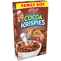 Kellogg's Cocoa Krispies Family Size Breakfast Cereal 22.2 Oz.
