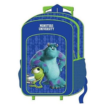 Childrens Large Premium Disney's Monsters University Trolley Bag Suitcase