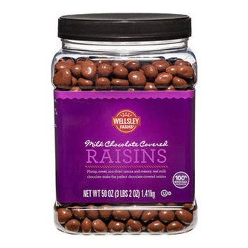 Wellsley Farms Milk Chocolate Covered Raisins, 50 oz.