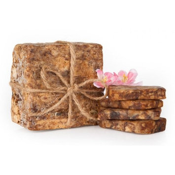 African Black Soap Organic Unrefined Pure Raw 100% Natural From Ghana 16 oz, 1 LB