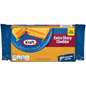 Kraft Extra Sharp Natural Cheddar Cheese Block