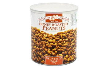 Superior Nut Honey Roasted Peanuts, 56 oz
