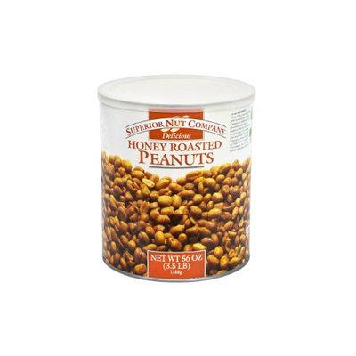 Superior Nut Honey Roasted Peanuts, 56 oz