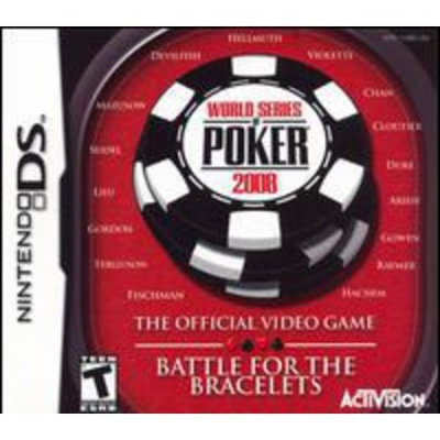 Activision, Inc. The World Series of Poker 2008: The Battle for the Bracelets