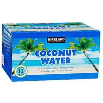 Kirkland Signature Organic Coconut Water 12 Count, 11.1 Ounce