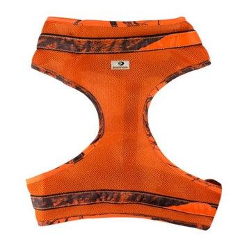 Mossy Oak Mesh Dog Harness, Orange, X-Large