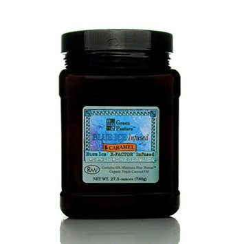 Blue Ice™ Infused Organic Virgin Coconut Oil - Caramel-27.5 Oz.