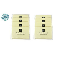 2 packs of Pretie Asian Bamboo Charcoal Extra Thick Super Absorbent Facial Blotting Paper/Oil Absorbing Sheets (160 sheets in total). Pop-up Inter-folded sheets.
