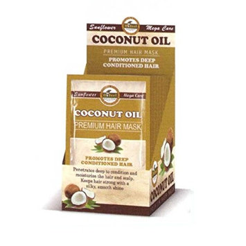 Difeel Premium Hair Mask - Coconut Oil 1.75 oz. (Pack of 6)