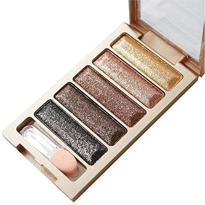 5 Color Glitter Eye Shadow Powder Palette Shimmer Metallic Eyeshadow Palette By DMZing