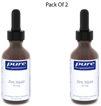Pure Encapsulations Zinc Liquid 120 ml