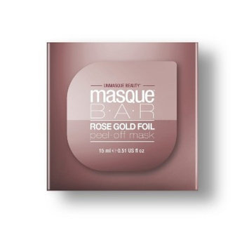 Masque Bar Foil Peel Off Mask Rose Gold - 1ct
