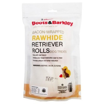 Bacon Wrapped Rawhide Retriever Rolls 2 ea - Boots & Barkley™